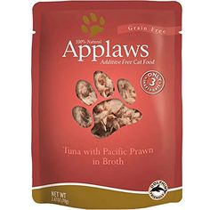 Applaws Tuna and Prawn Pouch Canned Cat Food 24oz >>> This is an Amazon Affiliate link. Learn more by visiting the image link.