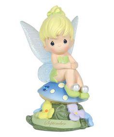Look at this #zulilyfind! September Tinker Bell Figurine by Disney Showcase Collection #zulilyfinds