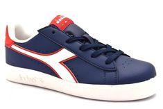123e141387f3 DIADORA 101 173323 01 C7356 GAME P BLU ROSSO Sneakers Scarpe Ginnastica  Ragazzo