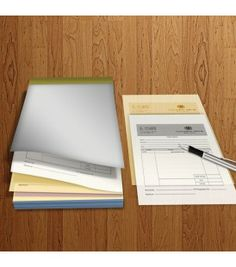 A6 2 Parts 1 Colour Print (Black) NCR NCR Books for receipts, invoices or purchase orders.   2 part A6 NCR books with black printing 50 sets per NCR book Sturdy card backing Top or side glued options Top/customer copy perforations Design templates or full design service Artwork Size: 109 x 152mm Finished Size: A6 (105 x 148)mm http://fotosnipe.co.uk/ncrbooks