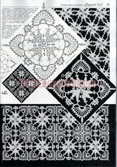 January 2015 Duplet 167 Ukrainian crochet patterns magazine