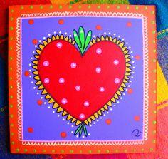 Corazón, corazoncito. by rebeca maltos, via Flickr