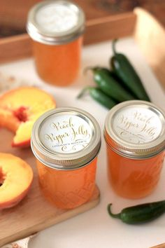Edible Gifts: Peach Pepper Jelly