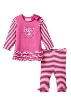 Dress & Pant Set (Baby Girls)
