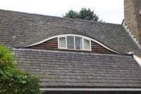 Eyebrow dormer have a low upwards curve with no distinct for Eyebrow dormer windows