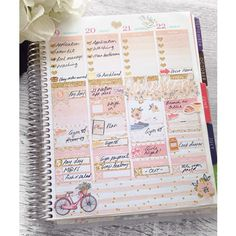 End of the week using the Peachy Pink and Gold Kit  Link in bio  . . . . . #plannergirl #plannerlove #planneraddict #plannerjunkie  #planningcommunity #plannercommunity #printables #printablestickers #plan #planner #weeklystickerkit #weeklystickers #weeklykit #glamplanning #eclp #etsy #etsyshop #erincondren #etsystickers  #etsystickershop #happyplanner #happyplannerstickers #mambi #etsyseller #etsyfinds #plumplanner #planner #erincondrenlifeplanner #weeklyspread #plannerlayout by…