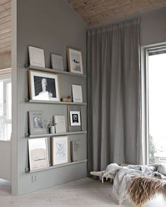 You can use them in just about any room of the house, and depending on what you're looking to put on them, you can go shallow or deep with IKEA's options. Ikea Hacks, Diy Hacks, Ikea Photo Ledge, Picture Ledge, Picture Walls, Decorating Your Home, Diy Home Decor, Decorating Websites, Rooms Home Decor