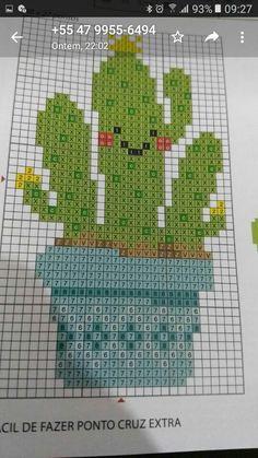 Cactus Cross Stitch, Cross Stitch Love, Cross Stitch Needles, Cross Stitch Flowers, Cross Stitching, Cross Stitch Embroidery, Cross Stitch Patterns, Stitch Witchery, Diy Friendship Bracelets Patterns