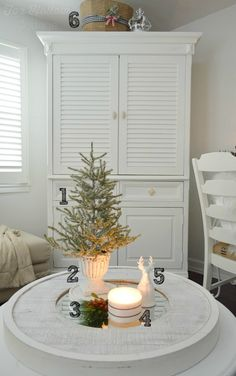 Christmas decorating with Budget Breakdown, how-to's, and Sources - Christmas at foxhollowcottage.com
