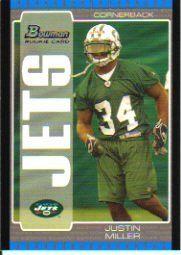 2005 Bowman #131 Justin Miller RC by Bowman. $0.31