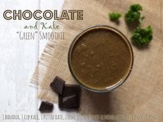 This amazing chocolate and kale smoothie will leave you feeling more satisfied than anything you've ever tasted!  Chocolate and Kale Green Smoothie  What you'll need:  1 banana 1 cup kale 1 pitted date 200ml unsweetened almond milk 3 tbsp cocoa powder Optimum High Speed Vortex Blender  For the full recipe, click here: http://www.elizabethskitchendiary.co.uk/2015/01/jumpstart-week-1.html/   #OptimumBlender #OptimumVortexBlender #BlenderRecipe #Froothie #greensmoothie #smoothie #rawfood