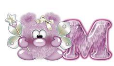Alfabeto cosita linda en violeta. | Oh my Alfabetos!
