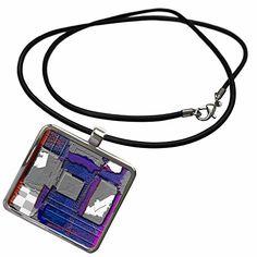 3dRose Jos Fauxtographee Modern - Chrome, Purple, Gray an…