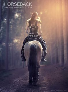 Hey everyone! In here I am going to show You how to create Horseback photo manipulation in photoshop CC 2017. Just only use two images with add layer mask, adjustment color, pen tool and merge layers technique. Hopefully and Enjoy!
