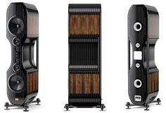Des enceintes Kharma Grand Enigma, référence dans le monde de l'audio et les plus chères du monde, vendue plus d'un million de dollars