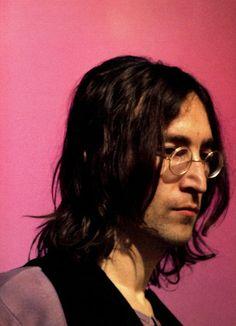 John Lennon photographed in 1968, by Linda Mccartney.