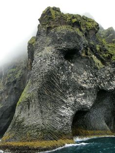 The Elephant Rock, Heimaey, Iceland. Don't confuse this formation with The Elephant Rock in Tongporutu, Taranaki, New Zealand. Places Around The World, Oh The Places You'll Go, Places To Travel, Places To Visit, Around The Worlds, Travel Destinations, Travel Tips, Travel Hacks, Travel Ideas