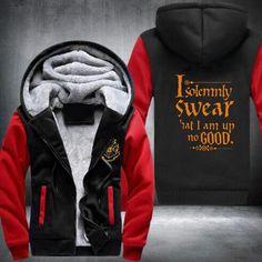 Harry Potter I Solemnly Swear That I am up to no Good Hoodie Fleece Mens Sweatshirt