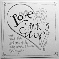 Love Your City/ Sue Carroll