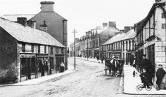 Ballyclare Memory lane with precious memories Belfast City, Ireland Landscape, Old Images, Historical Images, Emerald Isle, Northern Ireland, Main Street, Homeland, Origins