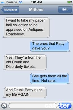 "Texts from Mittens: The ""Antiques Roadshow"" Edition 