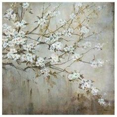 White Elegance by Liv Carson 36 in. x 36 in. Print
