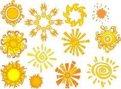 Watercolor Sun Tattoo | sun tattoo ideas