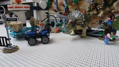 Review of the summer 2019 LEGO Jurassic World Triceratops Rampage! Featuring everyone's favourite Owen Grady (again) and I've finally gotten a LEGO Triceratops dinosaur! Lego Jurassic World, Baby Strollers, Scenery, Children, Summer, Baby Prams, Young Children, Boys, Summer Time