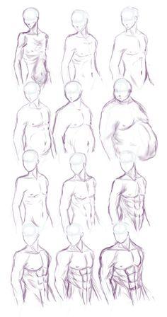anatomi-model-karakalem-çizimleri-89