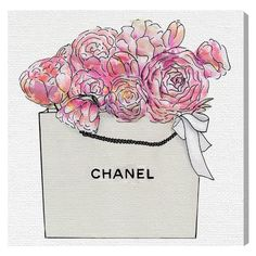 Oliver Gal Market Day Flowers Canvas Art - 14773_30X30_CANV_XHD