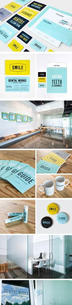 KC Dental Works | Branding Copywriting Design Signage Typography | Design Ranch