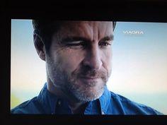 Viagra. This ad has three beards in it.