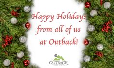Happy Holidays from #Outback! #WildernessTherapy