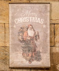 This 'We Wish You a Merry Christmas' Scroll by Ragon House is perfect! #zulilyfinds