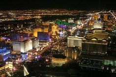Las Vegas, NV ,  Vegas.  I've never been and can't wait for the hubby to show me all of the fun places there!