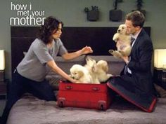▶ How I Met Your Mother - Puppies! - YouTube