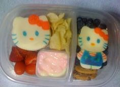 Hello Kitty Lunch for Kids #bento #sandwich