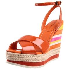 cute color block espadrille