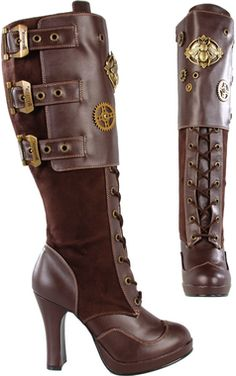 So excited to get this from The Violet Vixen. Bumble Buzz Brown Boots #thevioletvixen