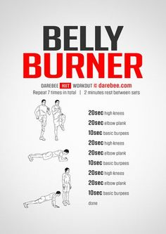 Belly Burner Workout - Tap the link to shop on our official online store! You can also join our affiliate and/or rewards programs for FREE!