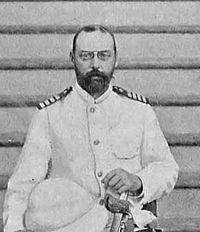 Valdemar of Denmark (1858 - 1939). Son of Christian IX and Louise of Hesse-Kassel. He married Marie of Orleans and had five children.