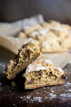 St. Patty's Day may be over, but we would eat the heck out of this Gluten-Free Irish Soda Bread any day.