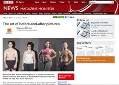 BBC News - The art of before-and-after pictures.