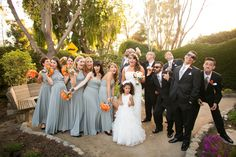 Love the bridal party dress colors! #bridalparty #barnwedding @kristinmreeves