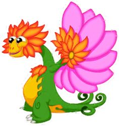 Bloom the Flower dragon, age 12, click for habitat info