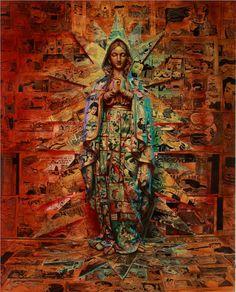 Virgin Mary byartist Ron English