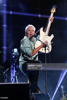 Iva Davies of Icehouse performs on stage during 2013 STONE Music Festival at ANZ Stadium on April 21, 2013 in Sydney, Australia.