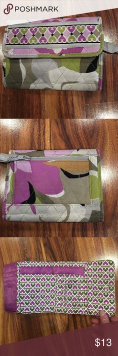 Vera Bradley wallet Cute pattern Vera Bradley wallet. Used a few months. #12/11/16 Vera Bradley Bags Wallets