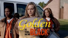 Orange is the New Black intro recut to The Golden Girls theme song