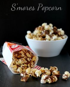 S'mores Popcorn {and a giveaway}